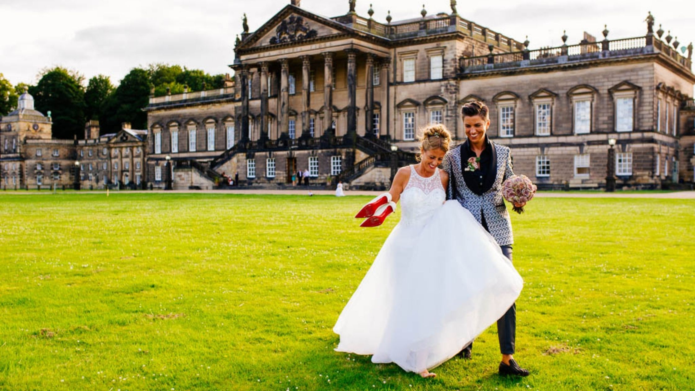 The Wedding of Kerry & Mirja at Wentworth Woodhouse